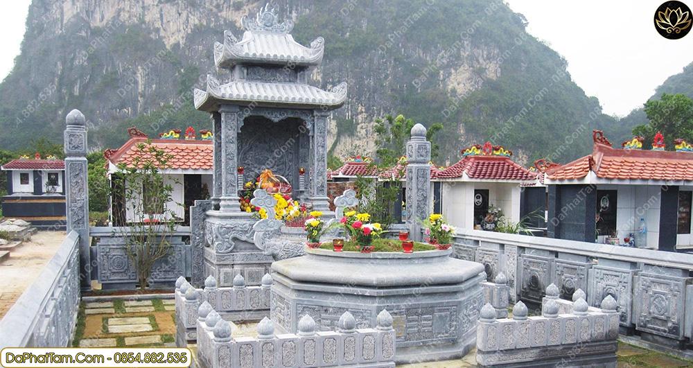 lăng mộ đá hợp phong thủy, vị trí lăng mộ phong thủy