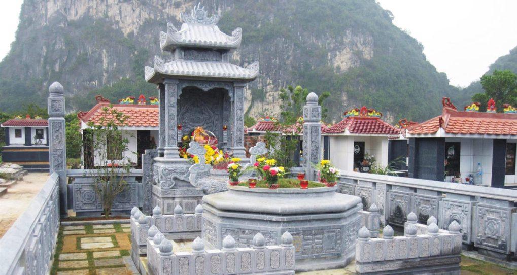 Lăng mộ đá đẹp, mẫu lăng mộ đá được ưa chuộng