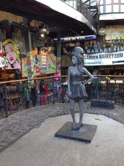 Amy Winehouse in Camden Town