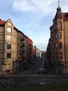 Off the University of Gothenburg's Campus