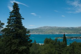 That afternoon we completed a circuit around Marjan Peninsula, directly west of centre Split, and renowned for its dense pine forest, jogging and hiking trails, and is home to the Institute of Oceanography and Fisheries.