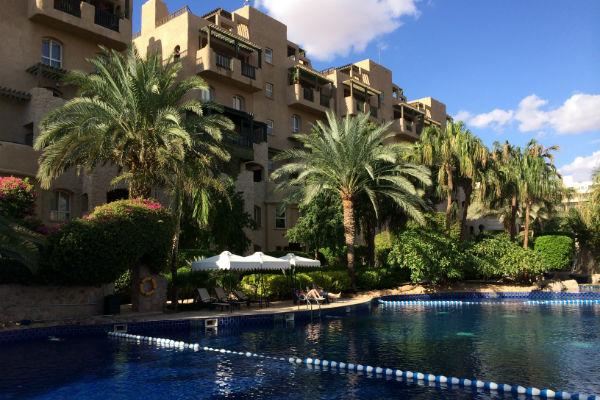 Het paradijselijke Mövenpick Resort & Residences Aqaba