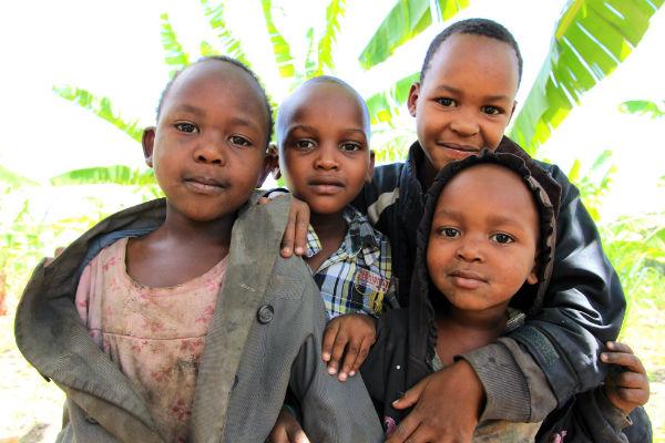 kinderen in mto wa mbu noord tanzania