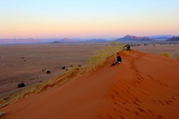 Zonsondergang Elim Dune