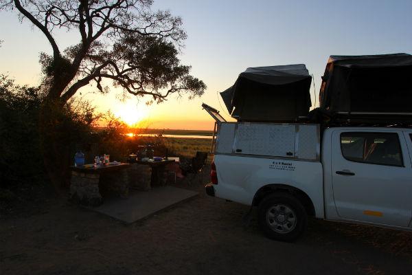 4x4 safari botswana