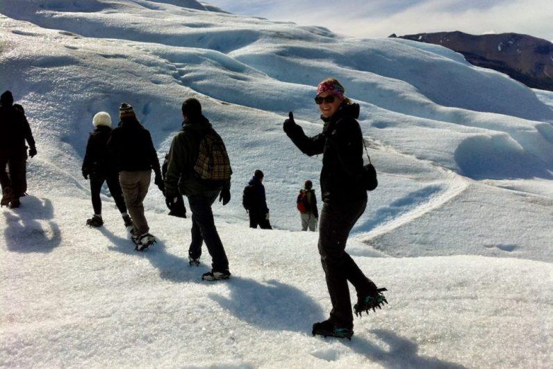 Een glacier hike op de Perito Moreno Glacier is een geweldige ervaring in Patagonie