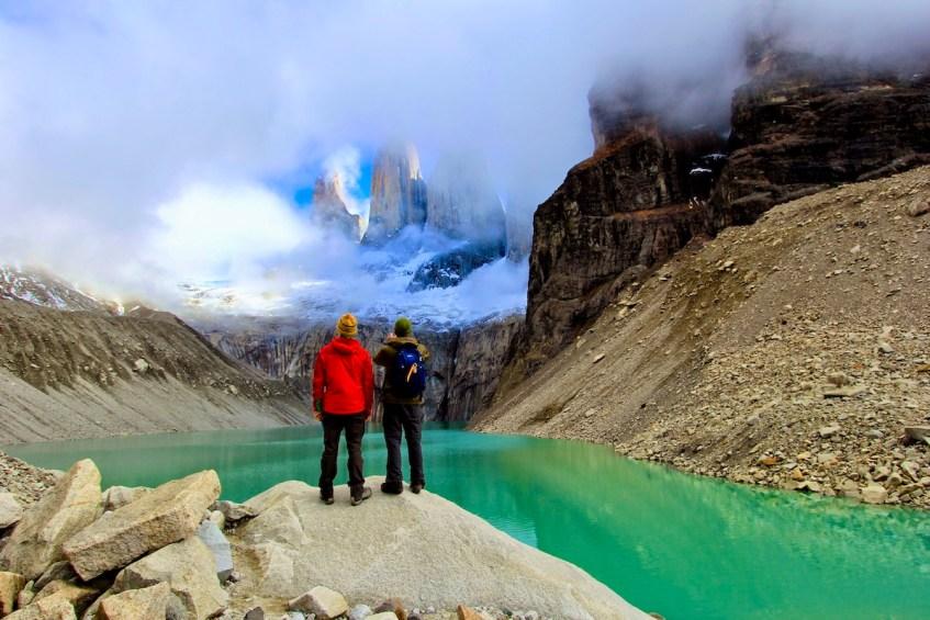 De ideale reisroute Patagonië bezoekt uiteraard Torres del Paine National Park