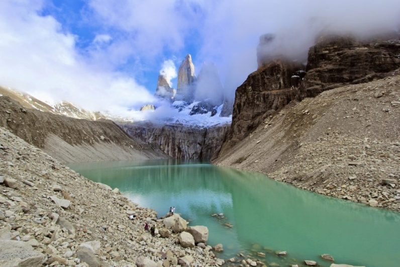 De ideale route Patagonië bezoekt uiteraard Torres del Paine National Park