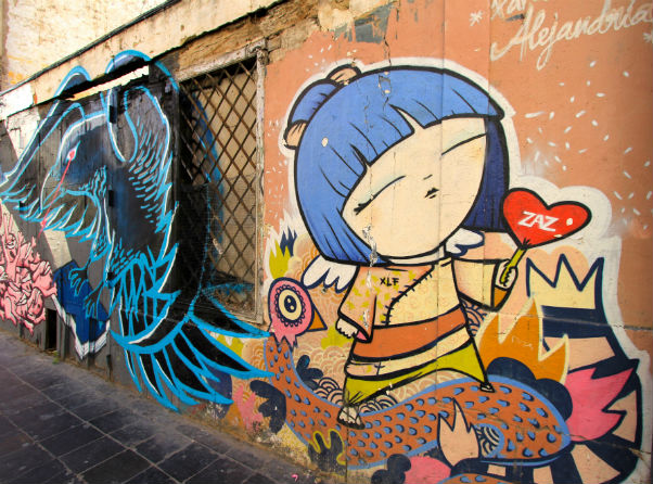 valencia highligts street art