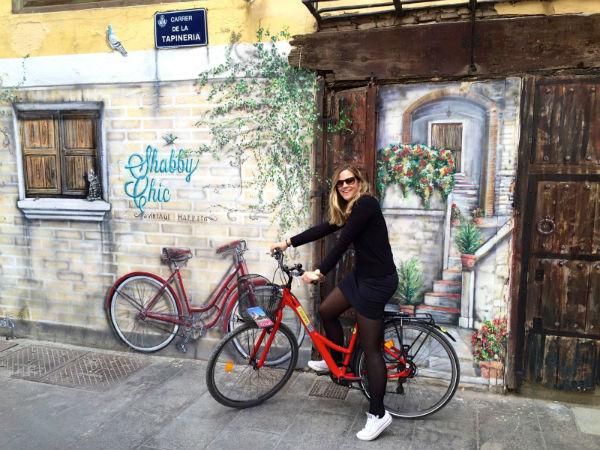 street art fiets valencia