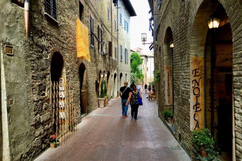 San Gimignano is een prachtig dorpje in Toscane