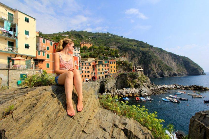 In Cinque Terre Italie