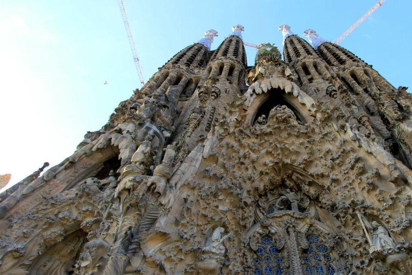 Sagrada Familia Barcelona Spanje