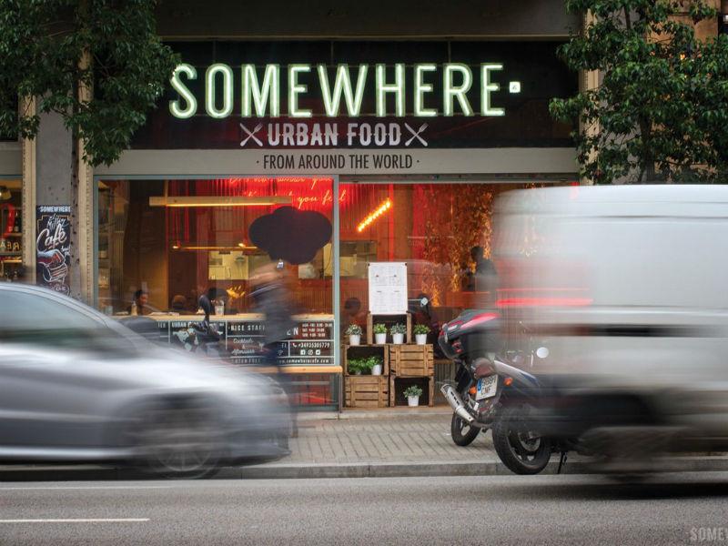 somewhere cafe barcelona