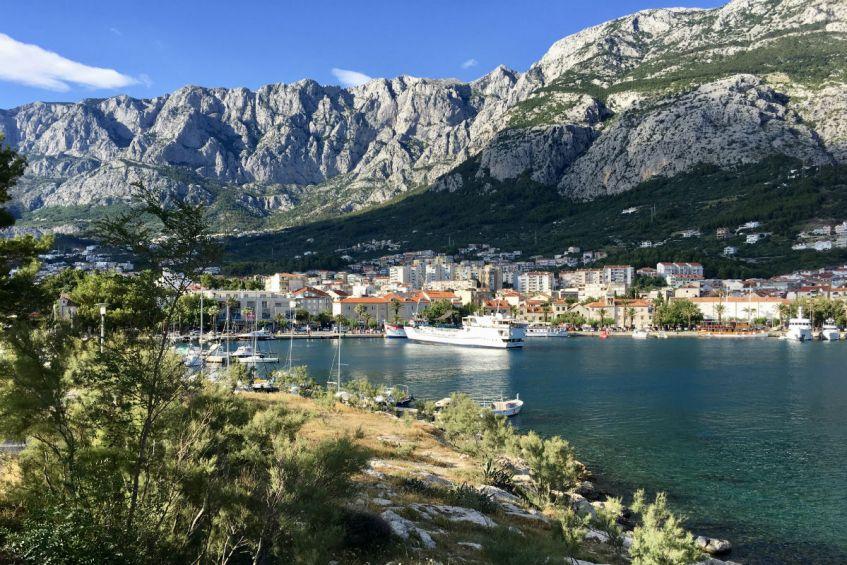 De beeldschone Makarska Riviera tijdens mijn roadtrip Dalmatië Kroatie