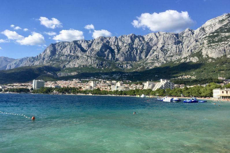 Markaska heeft een geweldige ligging in Dalmatie