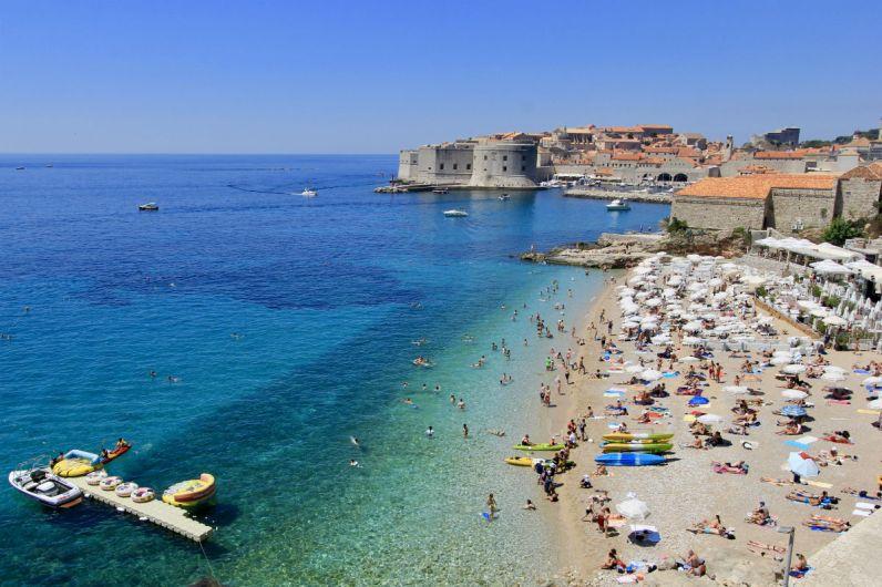 De kustlijn bij Dubrovnik is to die for