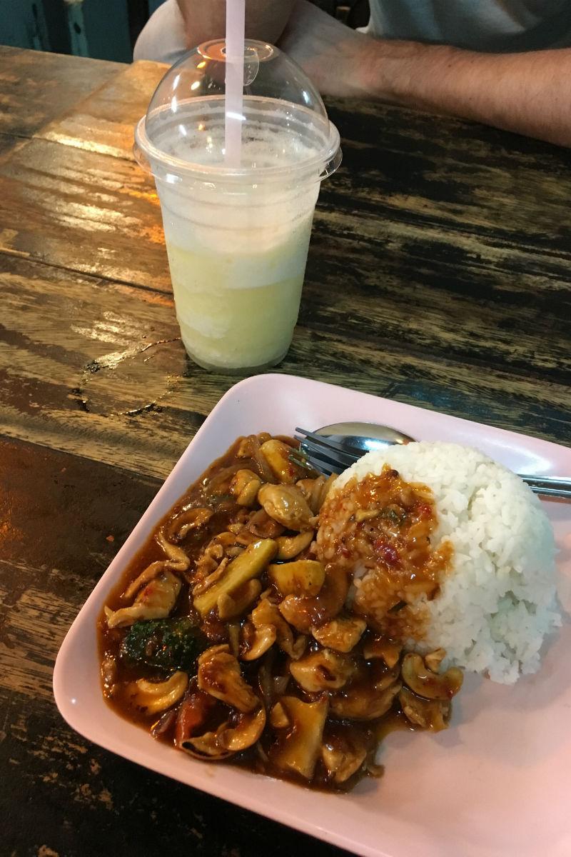 Een heerlijke maaltijd in Bangkok