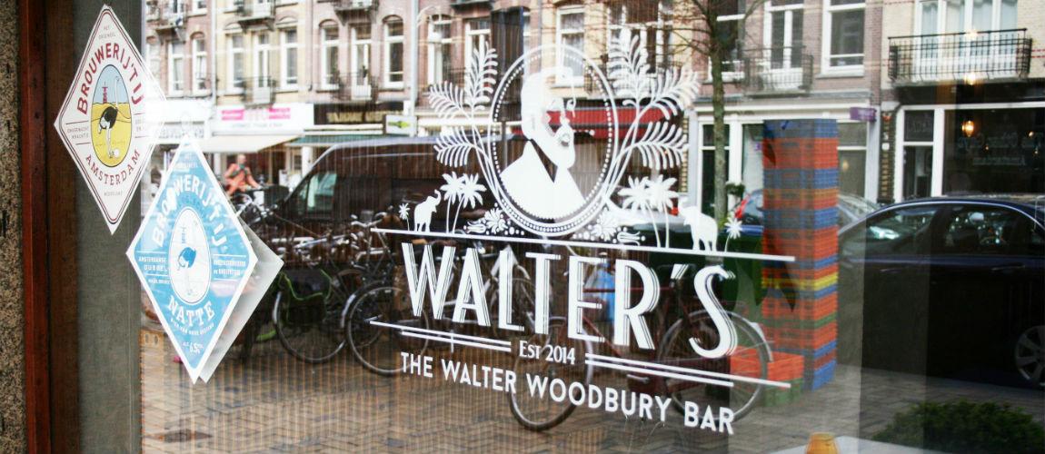 Walter Woodbury is een van de hotspots van amsterdam