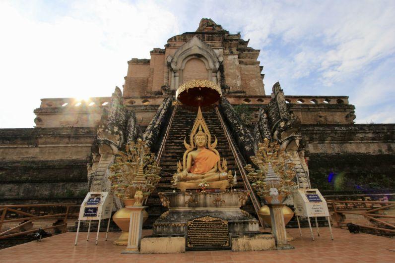 Doen in Chiang Mai - Bekijk de tempel Wat Chedi Luang