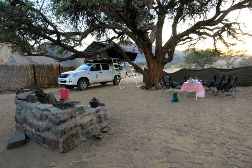 Inpaklijst Namibie en Botswana: op reis met 4x4 met daktent