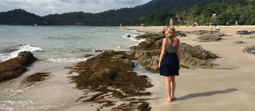 Prachtig Kantiang Beach op Koh Lanta Thailand