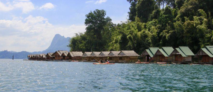 Reisdagboek de bamboehutjes van Khao Sok
