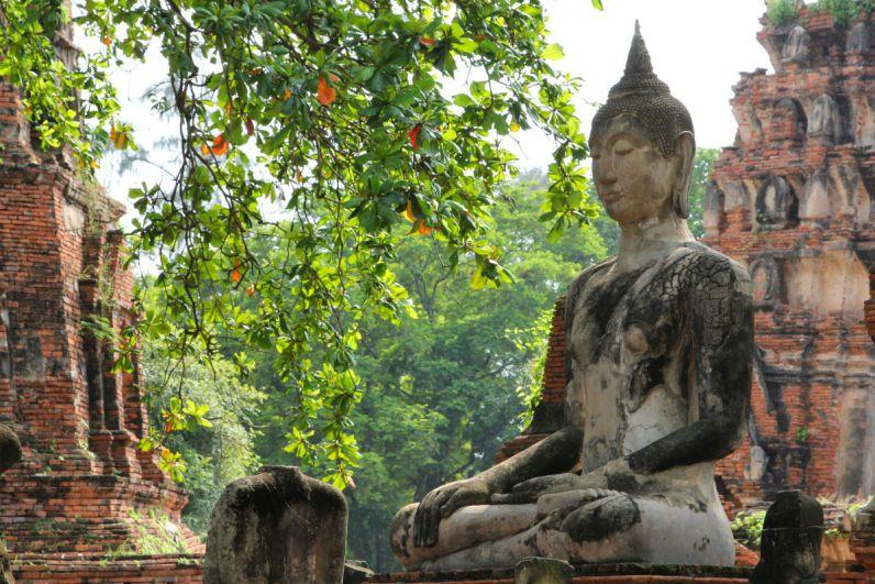 Thailand bezoeken en de tempels van Ayutthaya ontdekken