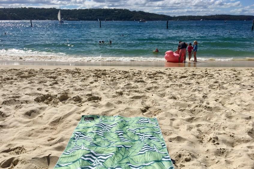 Heerlijk genieten op het strand van Shark Beach