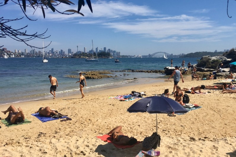 To do in Sydney wandel van Rose Bay via Milk Beach naar Watson Bay