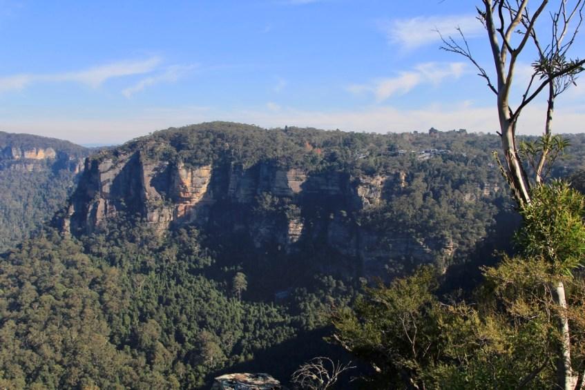 De uitkijkpunten bij de Blue Mountains zijn prachtig tijdens de winter in Sydney