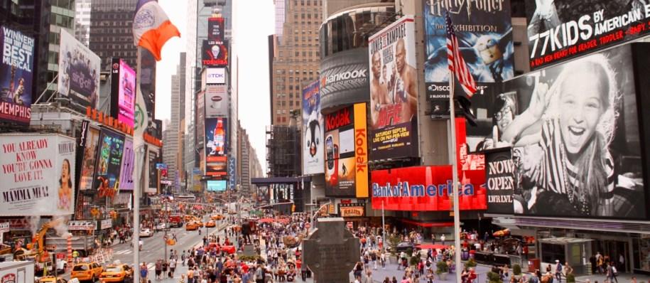 Ga zeker naar Times Square in New York tijdens je rondreis Canada & New York van 2 weken