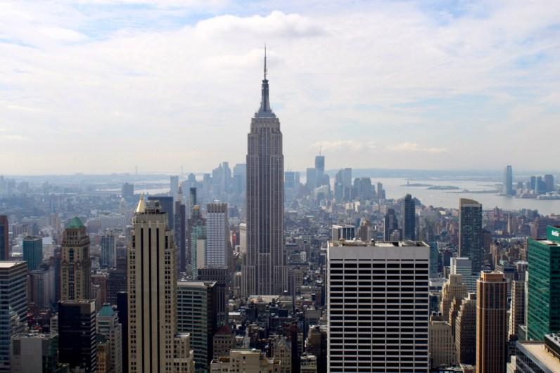 Het mooiste uitzicht over New York heb je vanaf de Top of The Rock