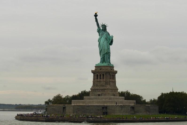 Het vrijheidsbeeld is een absolute must tijdens je route Canada & New York