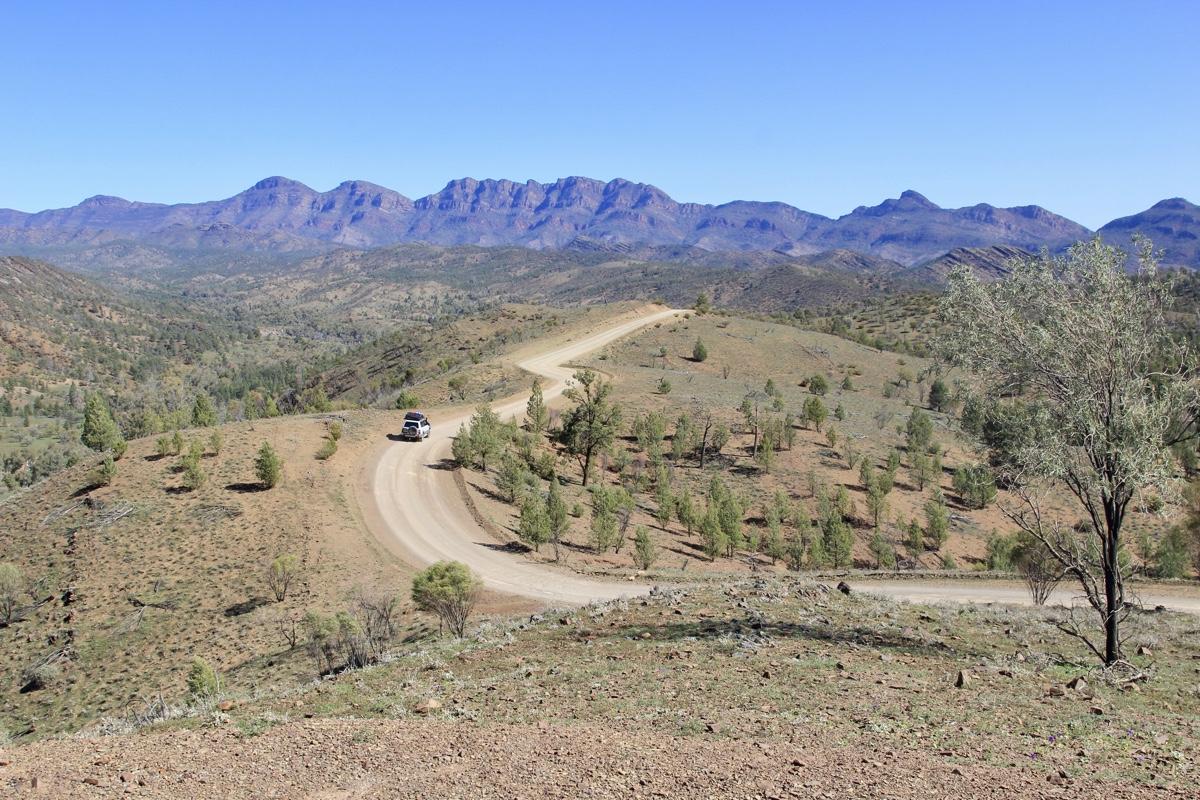 Razorback lookout at Flinders Ranges copy