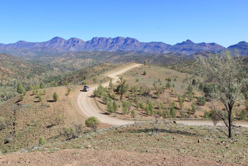 Razorback lookout at Flinders Ranges