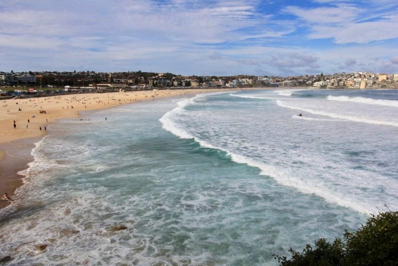 Het iconische Bondi Beach mag je niet missen in Sydney