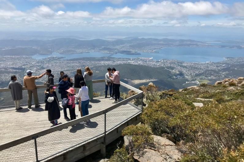 Wat te doen in Hobart? Bezoek Mount Wellington in Tasmanie