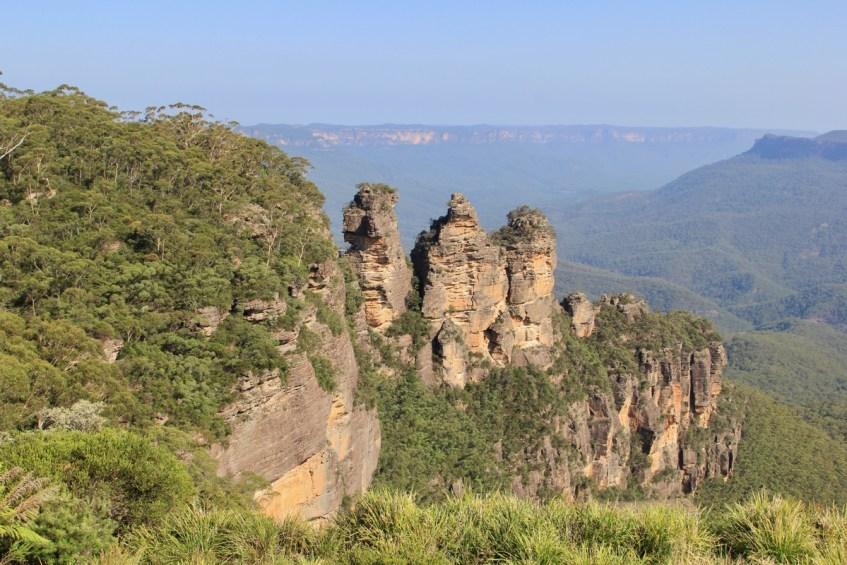 De Blue Mountains zijn een highlight van je route Melbourne naar Sydney