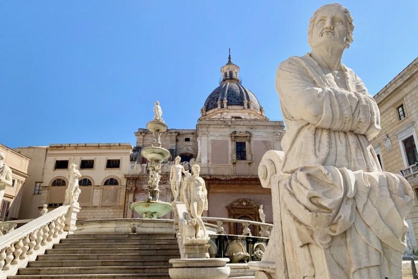 De Fontana Pretoria in Palermo