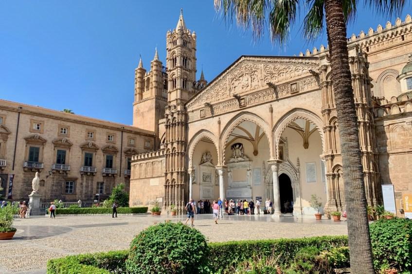 Magnifiek uitzicht vanaf de Kathedraal in Palermo - doen in Palermo