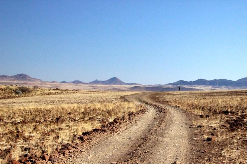 Namibië heeft prachtige desolate landschappen zoals Damaraland