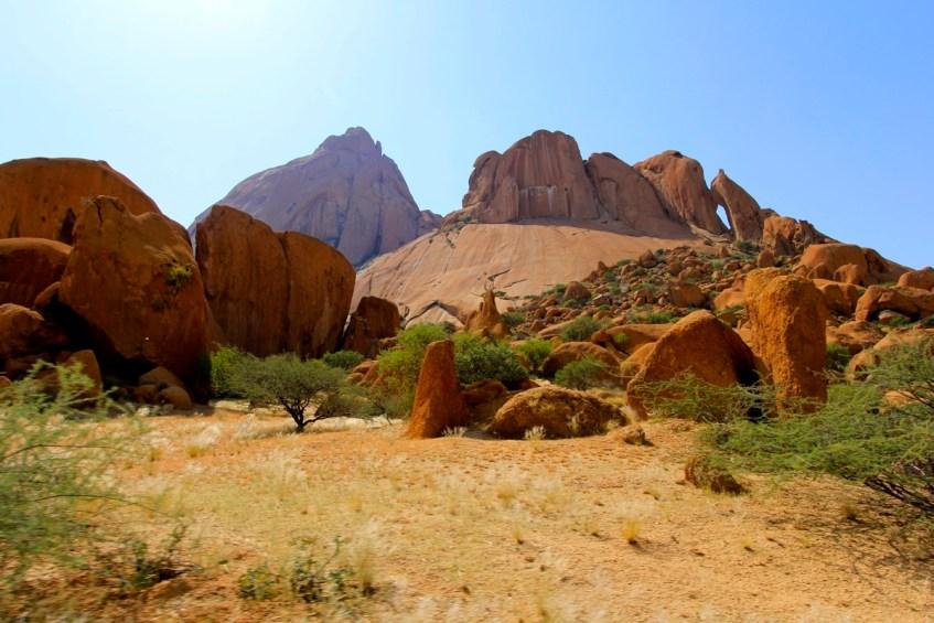 Spitzkoppe in Namibie is een highlight en is perfect voor een african sunset