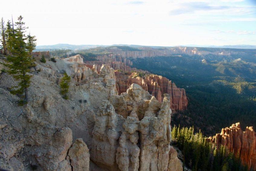 Zonsondergang bij Bryce Canyon