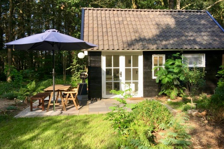 Boshuisje Gorssel is de plek om te overnachten op de Veluwe