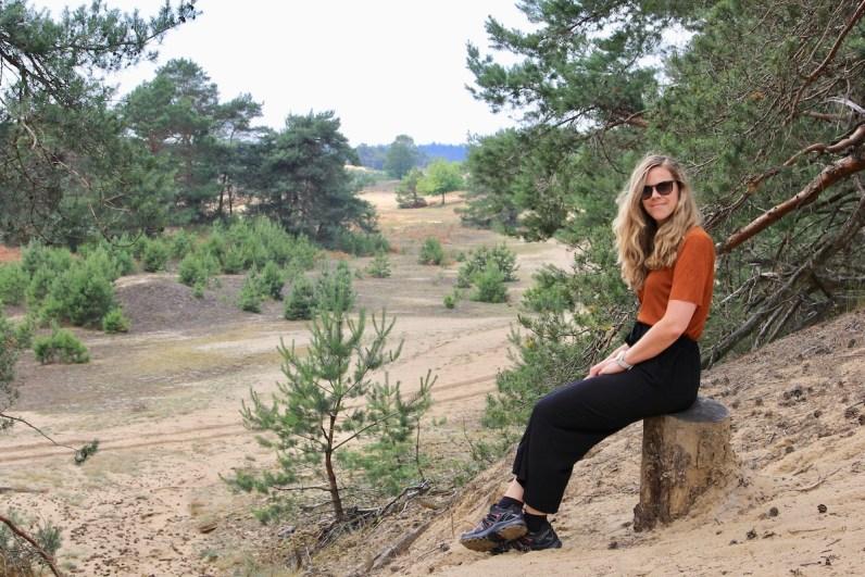 Wandelen op de Veluwe in het nationale park