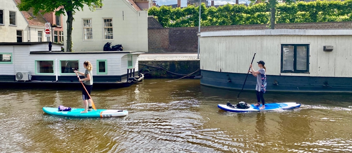 Suppen in Groningen: ontdek de grachten per sup
