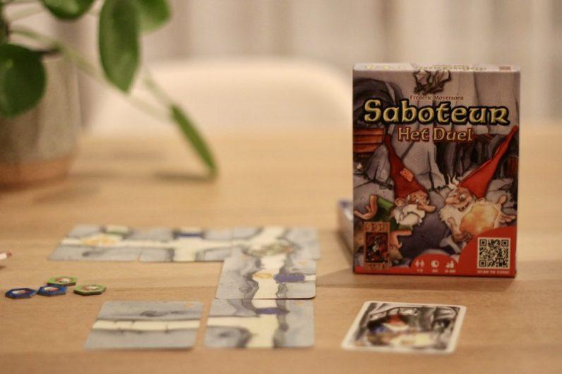 Saboteur is een super leuk spelletje om met zn tweeën te spelen