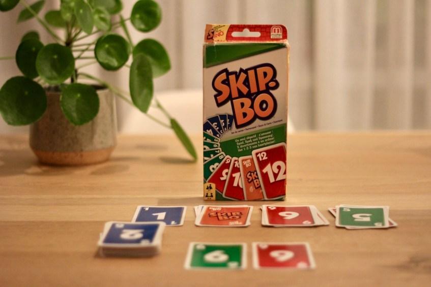 Skip-Bo is een super leuk spelletje om met zn tweeën te spelen