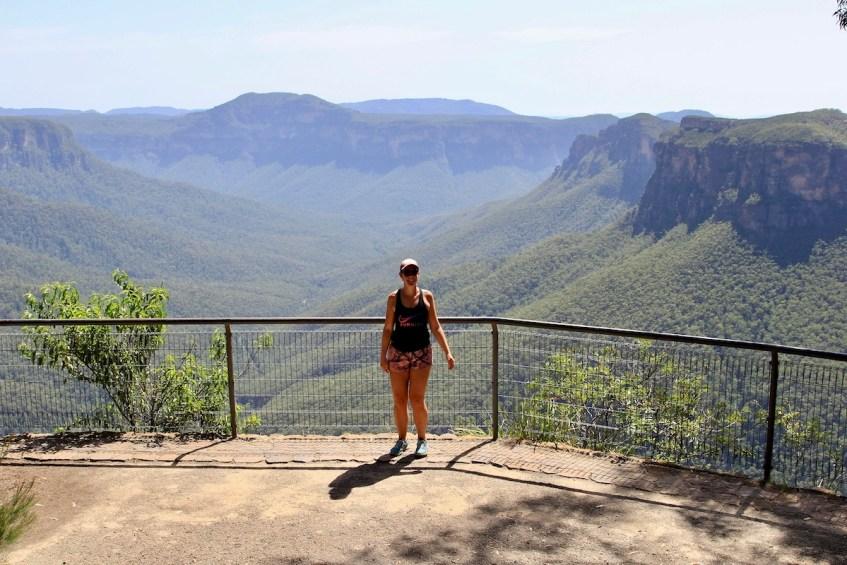 Wandel de Grand Canyon Walk in de Blue Mountains en eindig bij Evans Lookout is een van de beste Blue Mountains tips